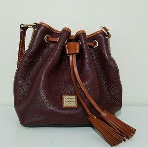 Dooney & Bourke Kendall Drawstring Leather Bag